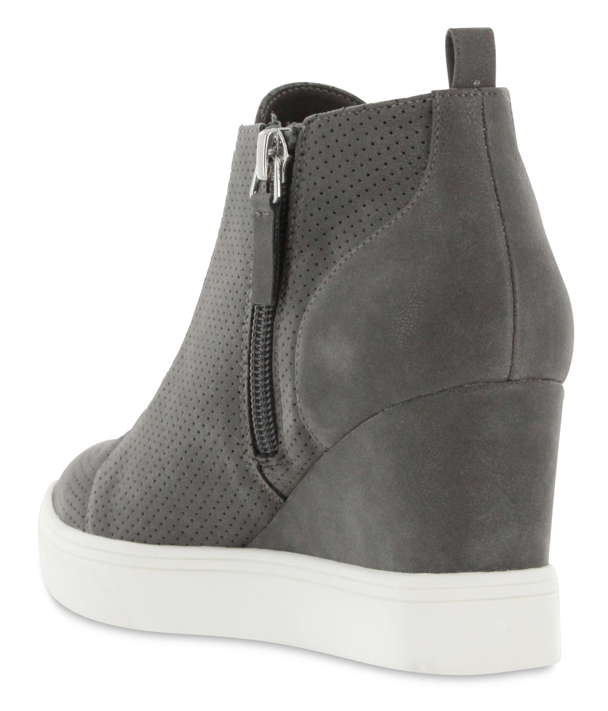 Mia Cristie Wedge Sneaker - grey - Detail