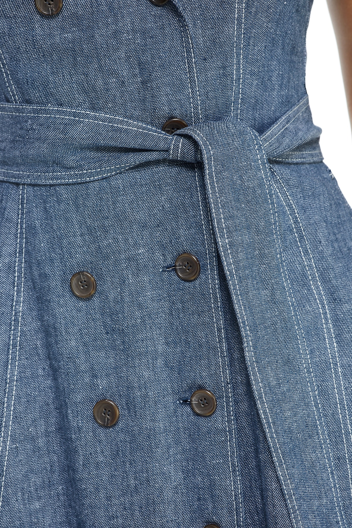 Maggy London Laura Dress - Misses - Denim - Detail