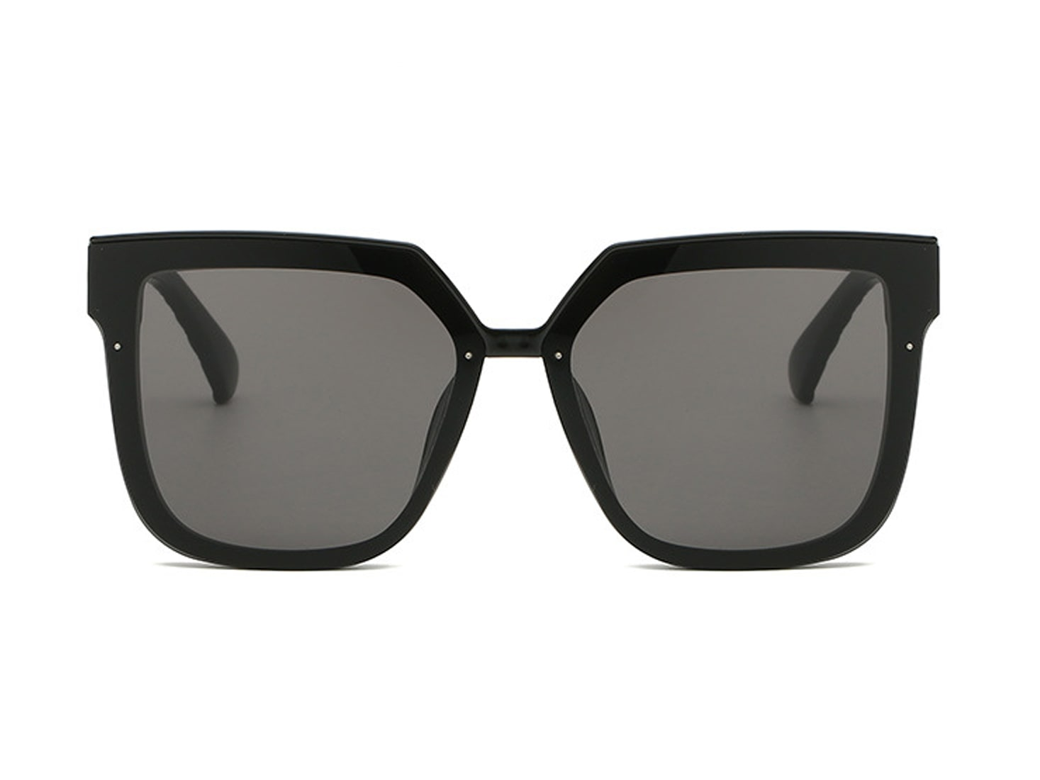 Trailblazer Cat-Eye Shades - Black - Front