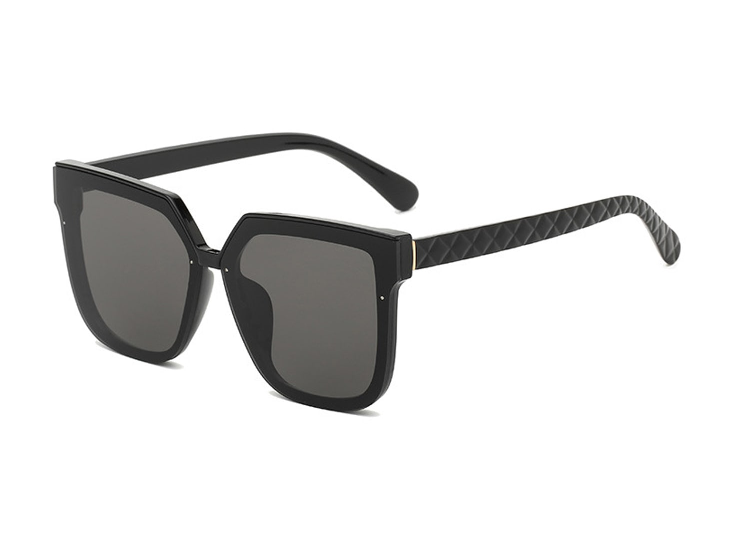 Trailblazer Cat-Eye Shades - Black - Back