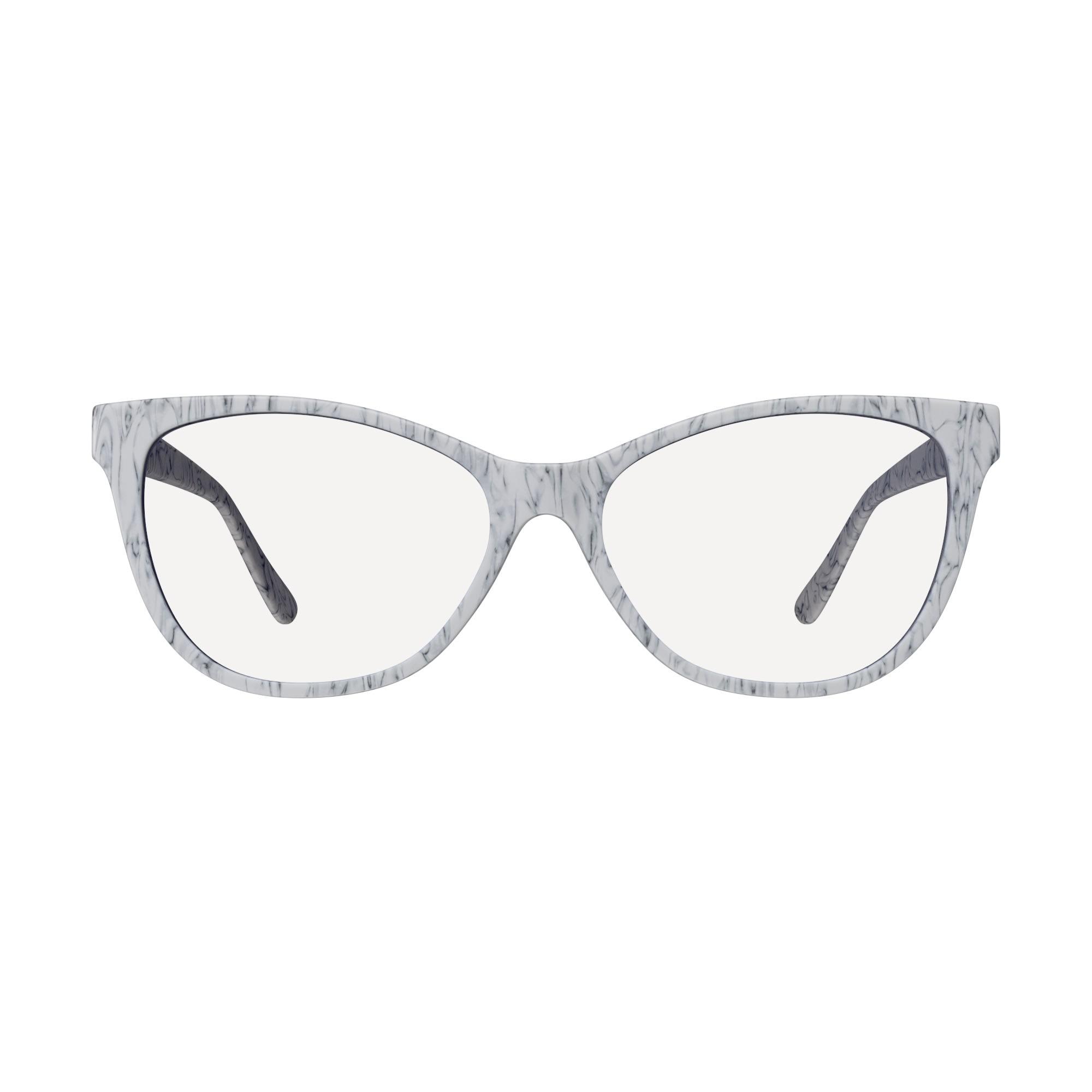 Blue Light Blocking Cat Eye Day Swannies® - Carerra - Front