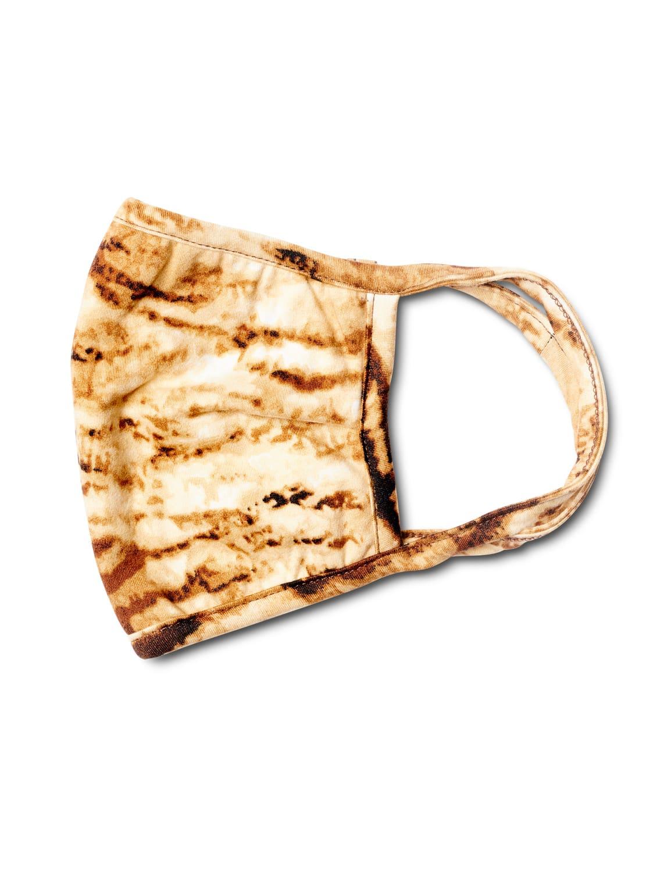 Animal Fashion Mask - Brown - Front
