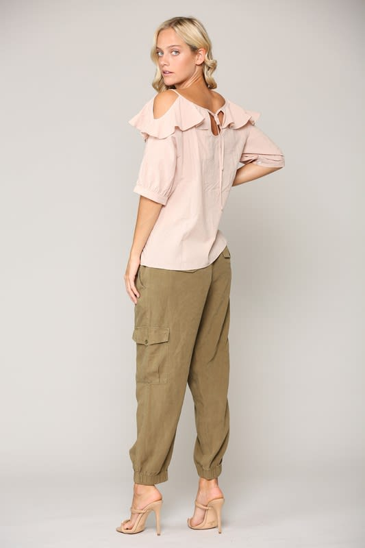 Whitney Top - Blush - Front