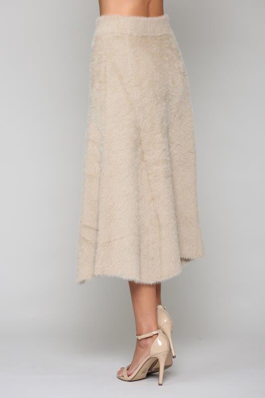 Stephanie Skirt - Khaki - Front