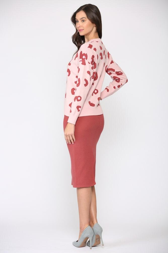 Sharlet Top - Pink red - Front