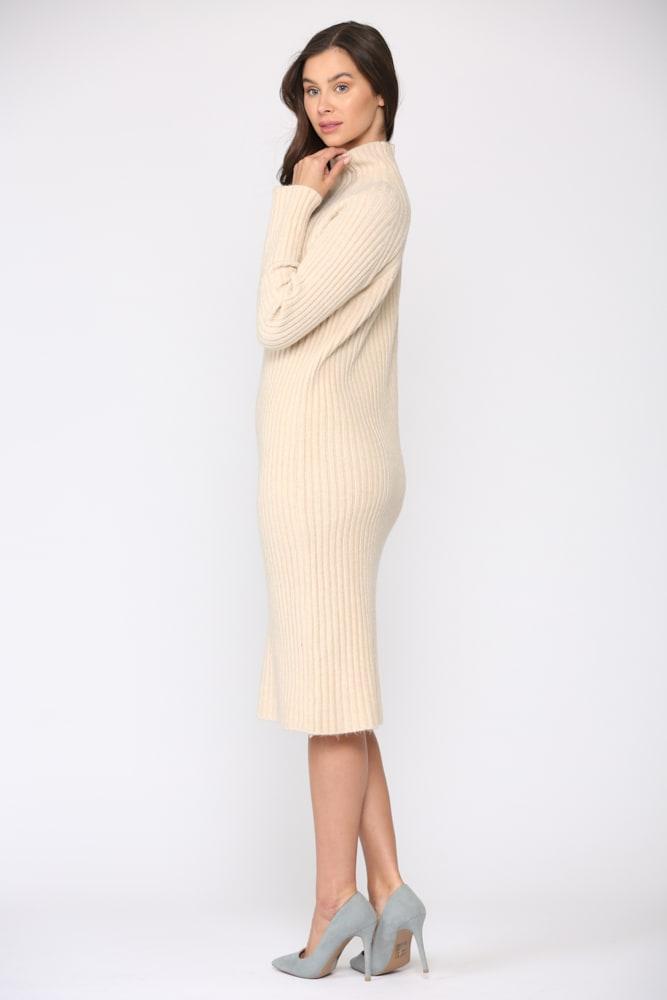 Saida Dress - Cream - Front