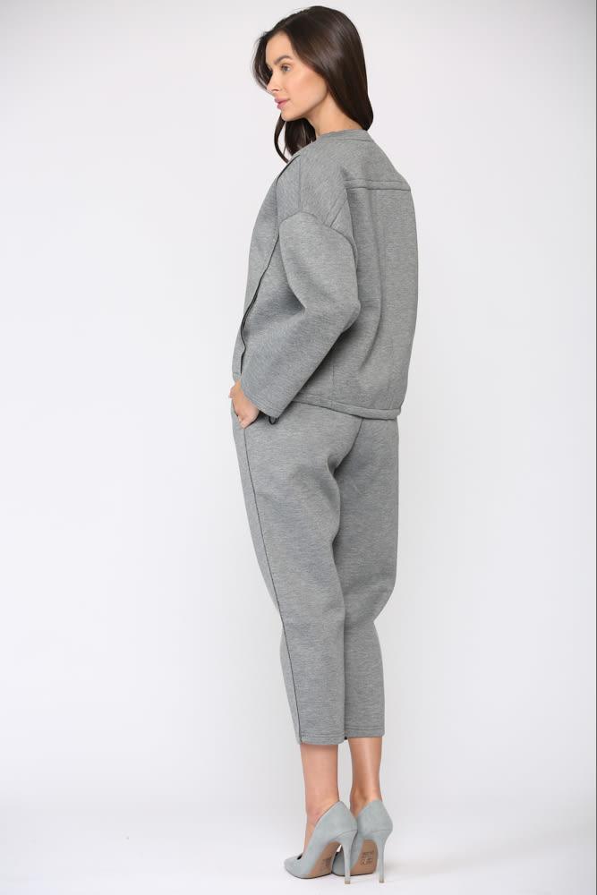 Farina Pant - Gray - Front