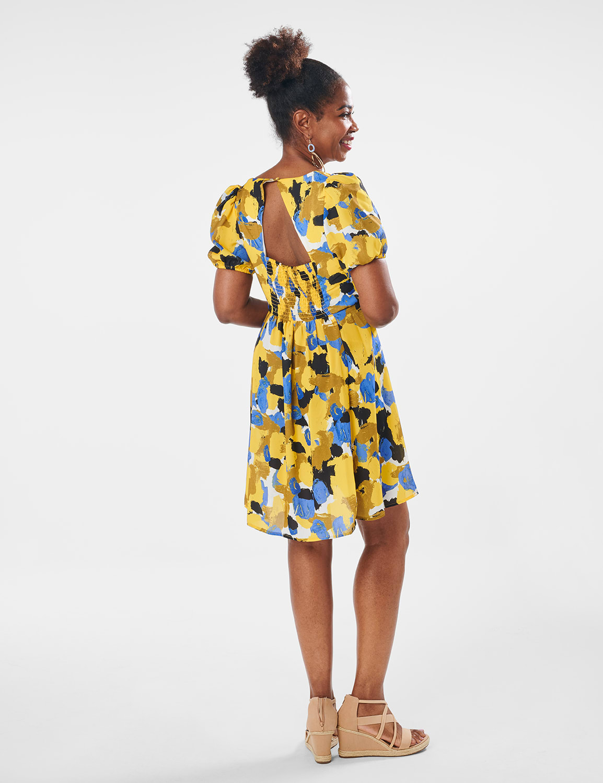 Jennie Dress - Multi - Front
