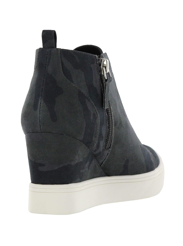 Mia Cristie Wedge Sneaker - Camo - Back