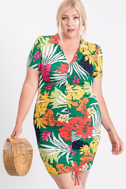 Stand Out Dress/Shirt -Multi - Front