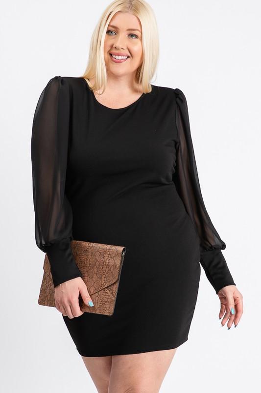 Little Black Dress -Black - Front