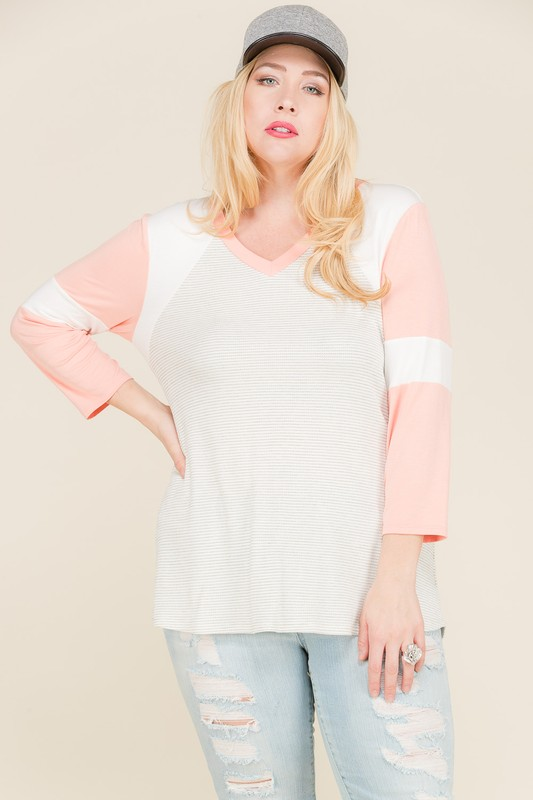 Get Moving Thermal Top -Coral - Front