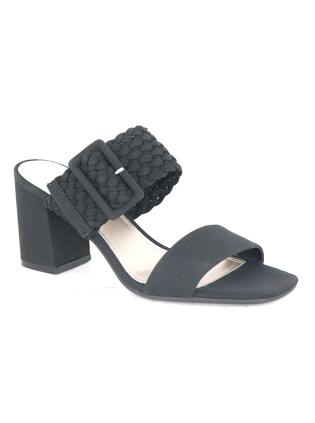 Impo Vlossom Block Heel Sandals -black - Front