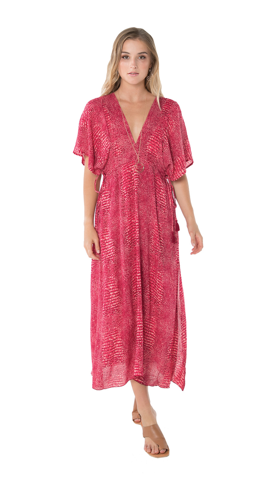 Bisous Tunic -Ular Red - Front
