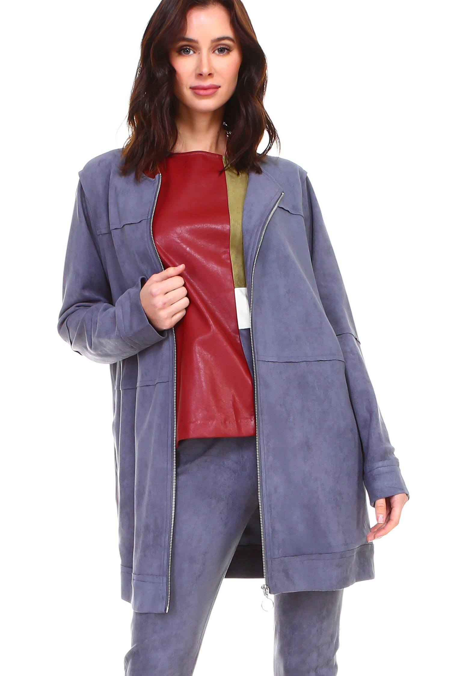 Angel Jacket -Ash - Front