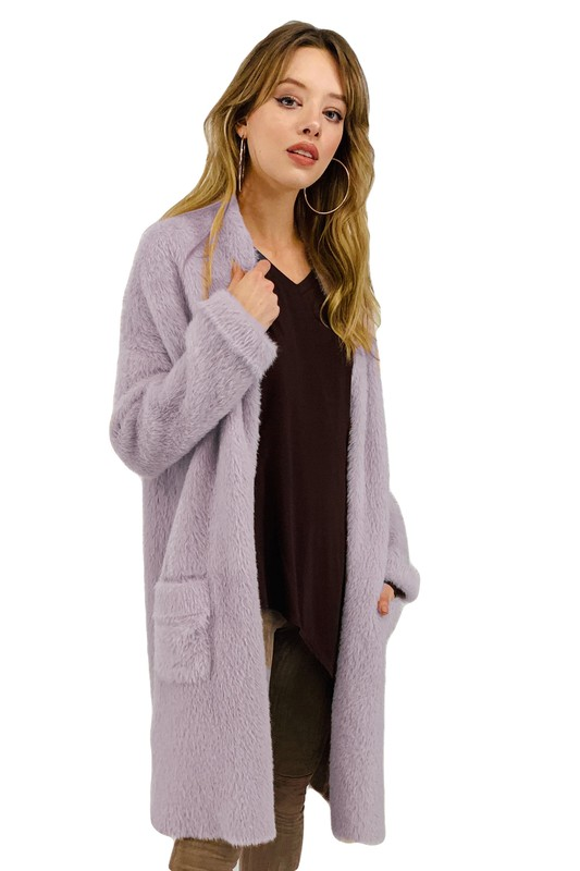 Shelby Coat -Blush - Front