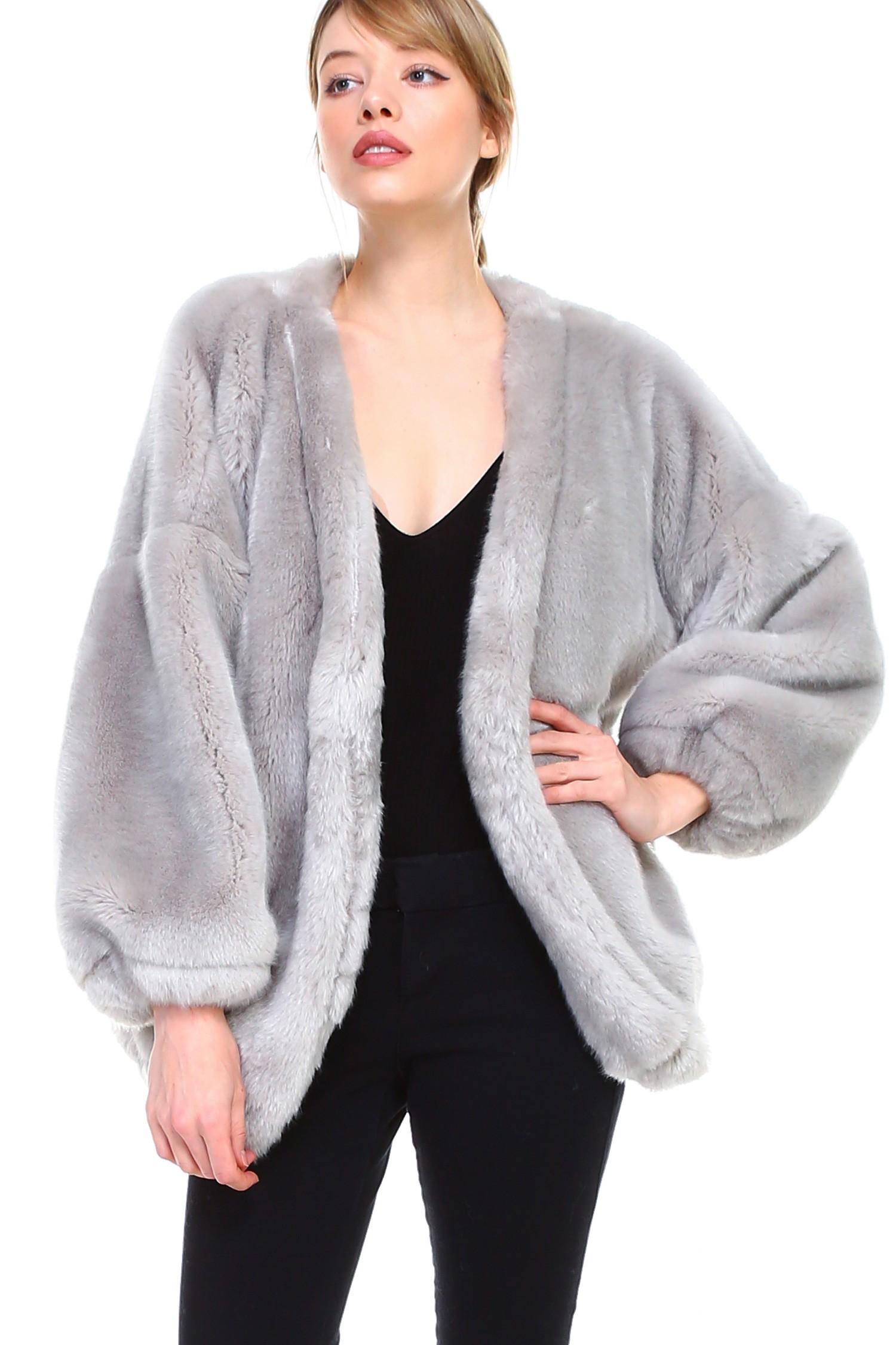 Raelene Jacket -Grey - Front