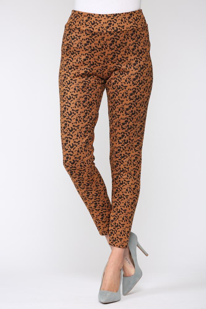 Leopard Annelise Pant - Leopard - Front