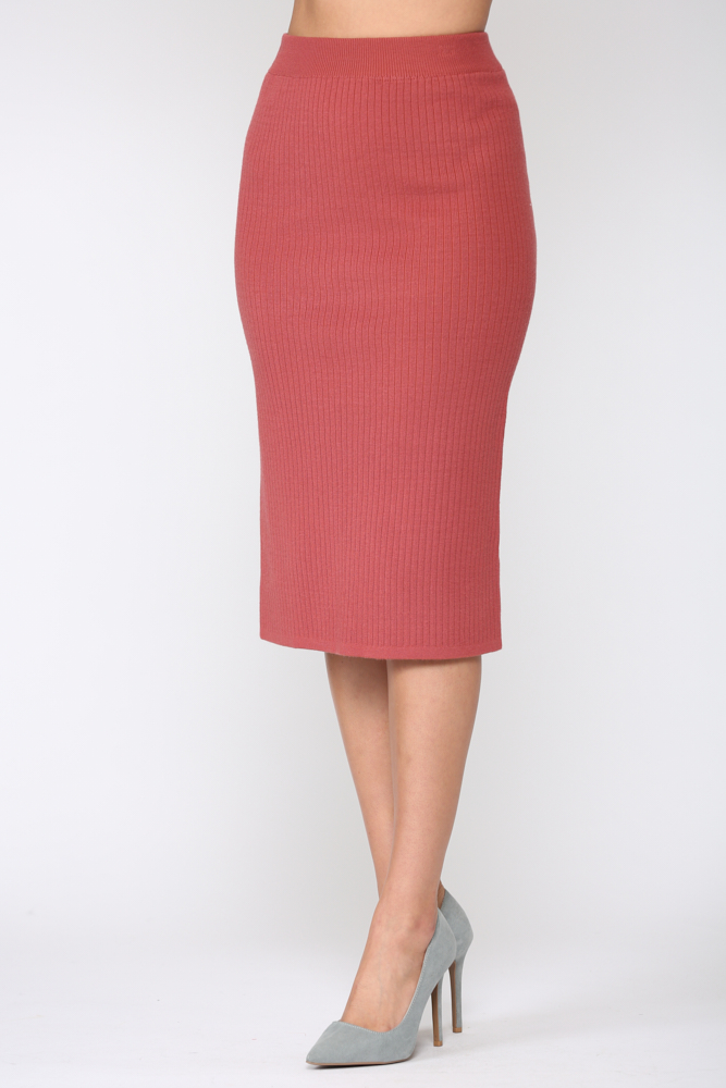 Shantelle Skirt -Pink red - Front