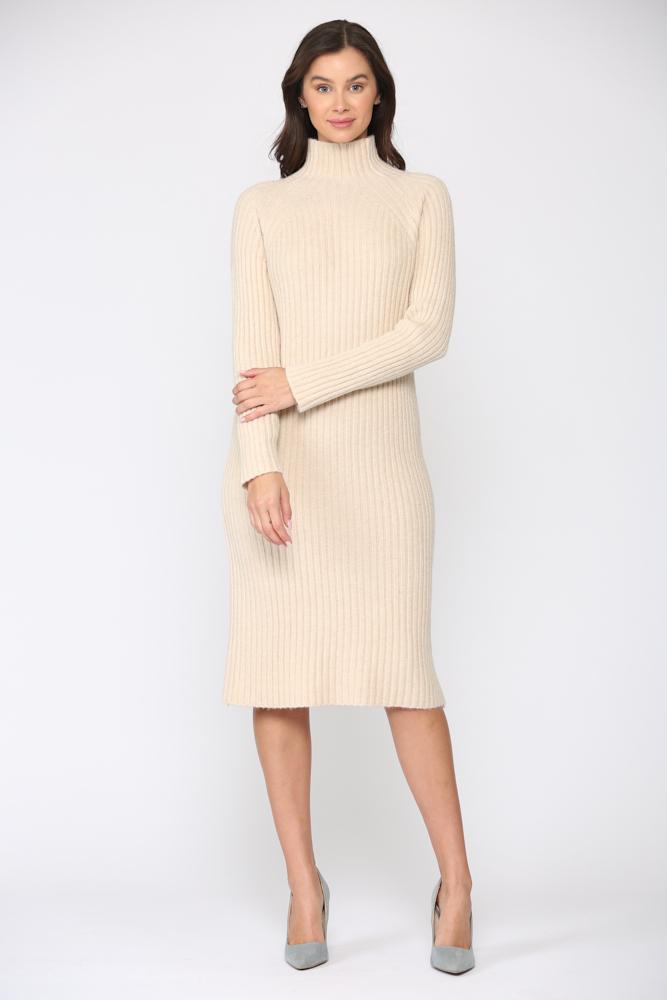 Saida Dress -Cream - Front