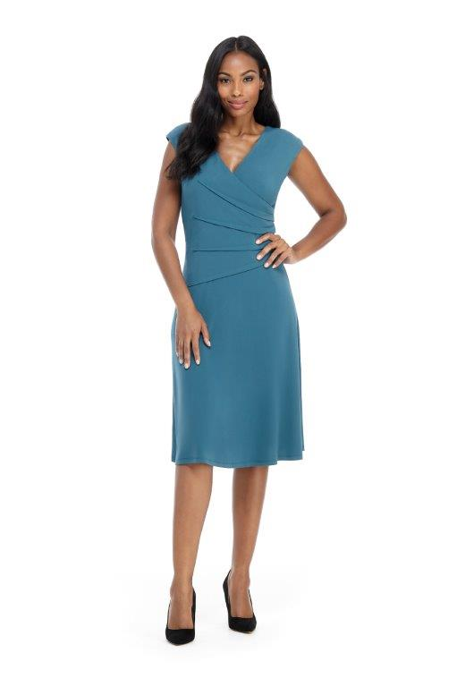 Brenna Dress -Sea smoke - Front