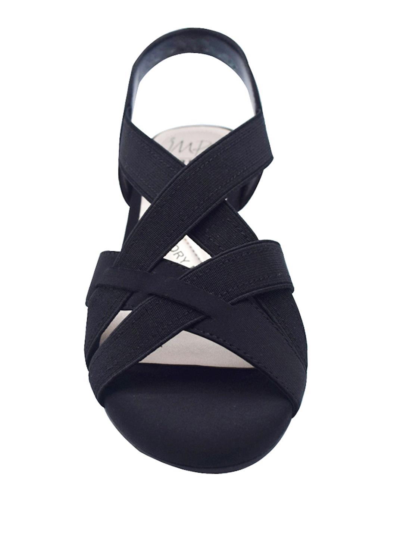 Impo Editha Stretch Sandal - black - Front