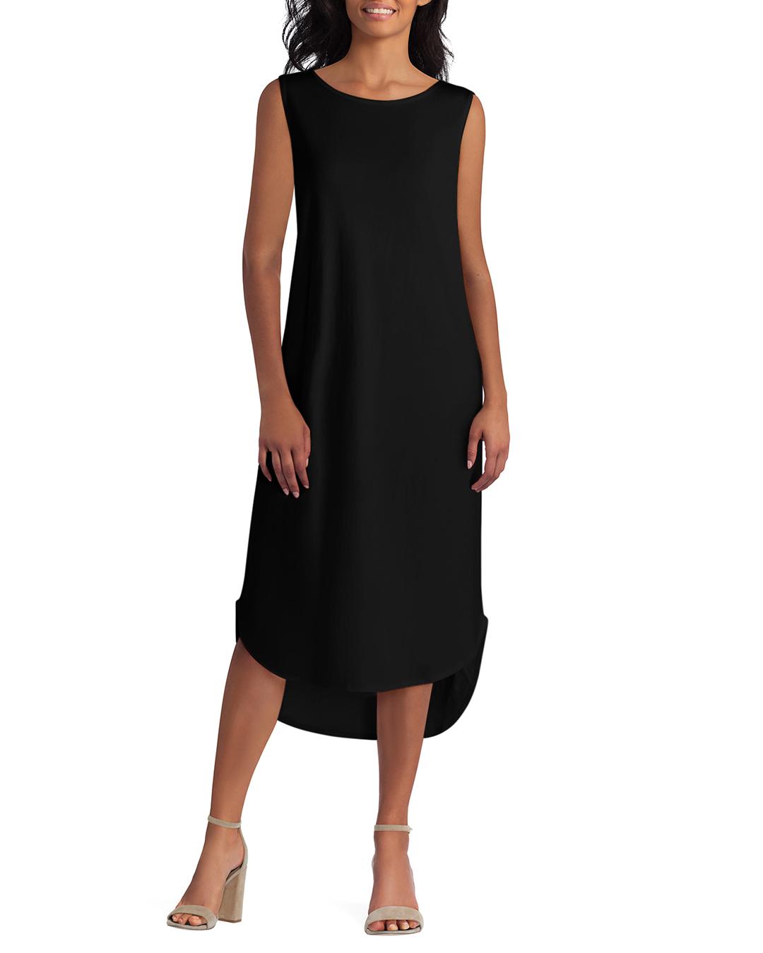 Halston Hi-Low Hem Knit Maxi Dress Hthr Flint Grey XXS NEW A274136