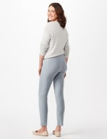 Superstretch Luxe Pull On Pants - Antique Blue - Back