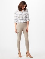 Skinny Cargo Pant - Neutral - Front