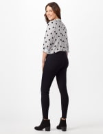 5 Pocket Goddess Fit Jeans - Dark Stone Wash - Back