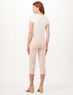 Stripe Pull-On Pants - Porcelain Rose Multi - Back