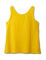 Studded Knit Tank - Plus - Gold - Back