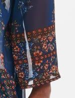 Dressbarn Floral  Border Kimono - Misses - Multi - Detail
