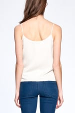 Essential Tank Top - Ecru - Back