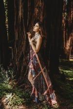 Juliette Dress In Kasbah - Kasbah - Detail