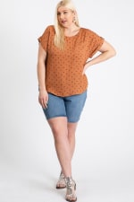 Ready To Roll Shirt - Rust - Front