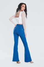 Perfect Fit Flare Jeans - PB - Back