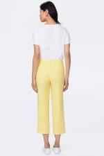 NYDJ Linen Utility Pants - Sunshine - Back