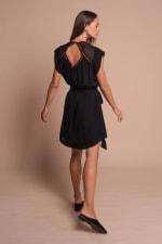Amber Dress - Black - Back