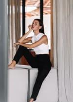Aquerella Pants - Black - Front