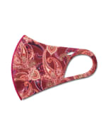 Autumn Paisley Anti-Bacterial Fashion Face Mask - Multi - Detail