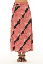 Maxi Skirt Fado Rose - Fado-Rose - Front