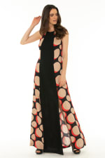 Maxi Dress Galaxy Red - Galaxy-Red - Front