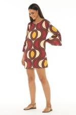 Short Dress Star Wine - Star-Wine - Detail