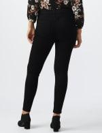 Westport Signature 5 Pocket Skinny Jean - Black - Back