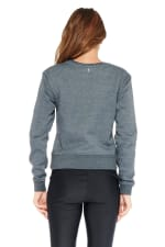 Kendall Panther Sweater - Gunmetal - Back