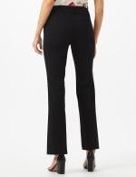 Roz & Ali  Secret Agent  Trouser With Cateye  Pocket  & Zipper - Black - Back