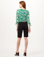Pull-On Refined Shorts - Black - Back