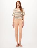 Cargo Pocket Slim Pants - Macaron - Front