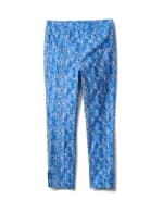 Printed  Superstretch Pull On Pants - 12
